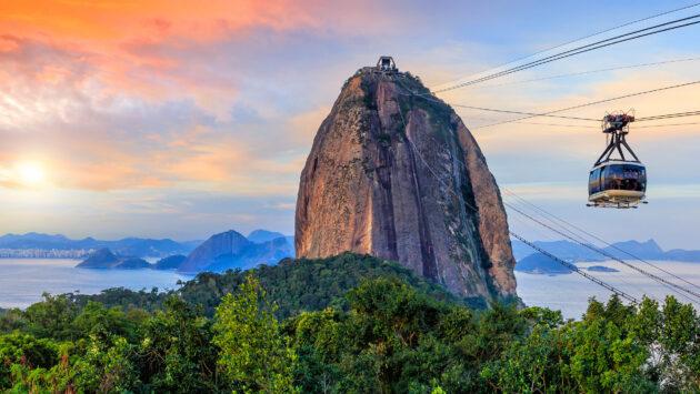 Brasilien Rio de Janeiro Sugar Loaf