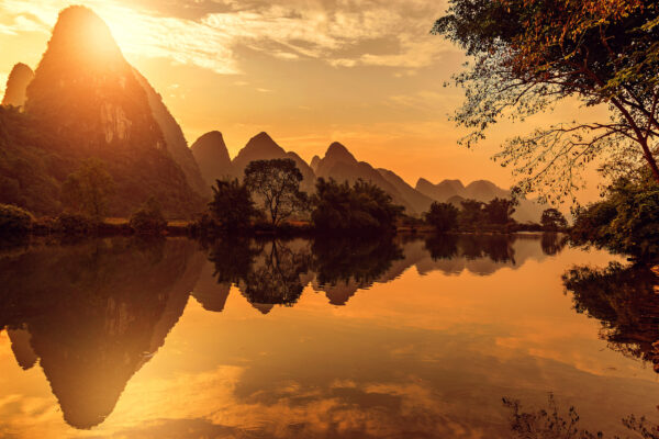 china yangshuo li river
