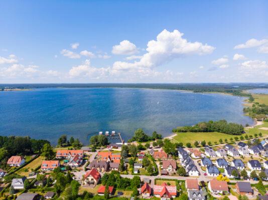 Deutschland Mecklenburgische Seenplatte Fleesensee
