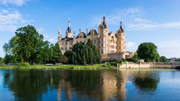 Deutschland Mecklenburgische Seenplatte Schweriner See
