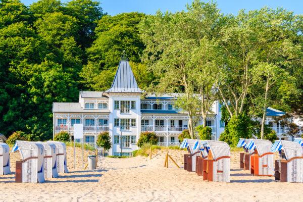 Deutschland Rügen Binz Strand