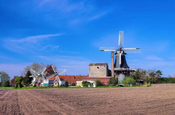 Deutschland Ruttel Windmühle