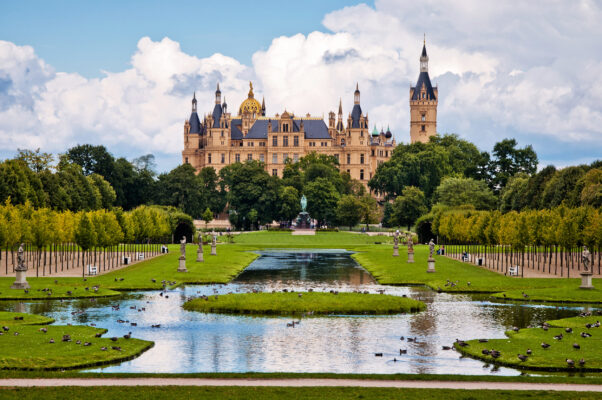 Deutschland Schwerin Schloss