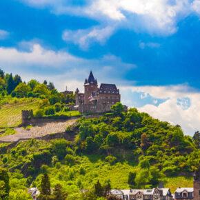 Deutschland Stahleck Schloss