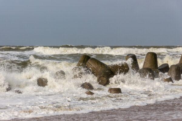 Deutschland Sylt Wellen