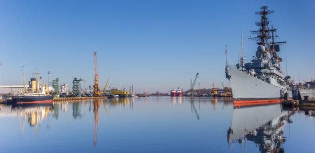Deutschland Wilhelmshaven Panorama