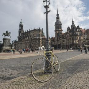 Dresden Altstadt Fahrrad