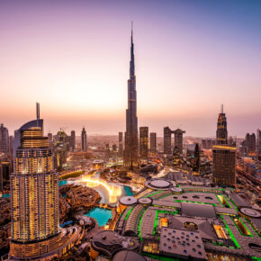 Luxus in Dubai: 7 Tage im TOP 5* Hotel mit Infinity-Pool, Frühstück, Flug, Transfer & Zug nur 481€