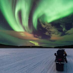 Polarlichter anschauen: Finnland Flüge nur 3€