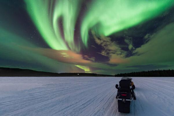 Finnland Polar Lichter