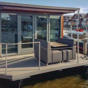 Urlaub auf dem Wasser: 7 Tage in Nordholland im schwimmenden Hausboot nur 146€