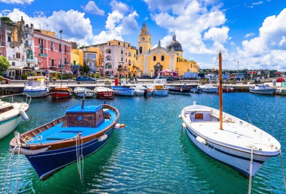 Italien Campania Procida Island