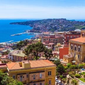 Italien: Flüge nach Neapel für nur 5€