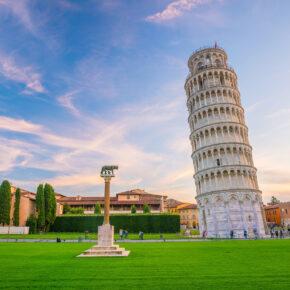 Bella Italia: 3 Tage Pisa am Wochenende im zentralen Hotel mit Frühstück & Flug nur 55€