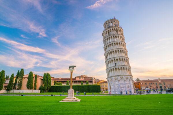 Italien Pisa Schiefer Turm von PisaI