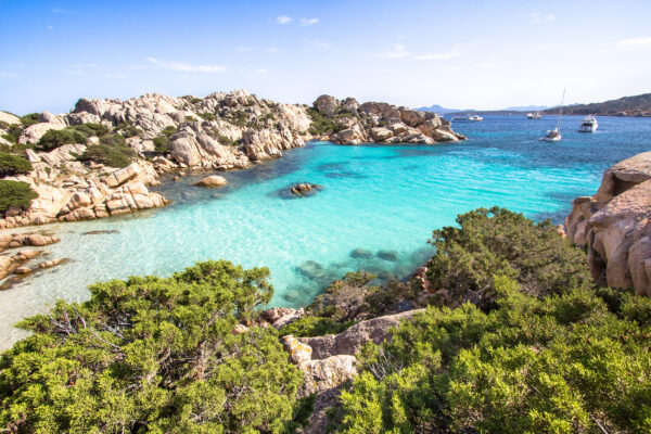 Italien Sardinien Cala Coticcio Caprera Island