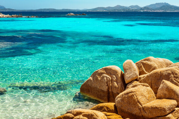 Italien Sardinien Capricciolo Beach