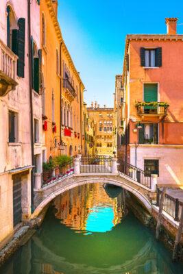 Italien Venedig Kanal