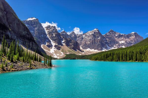 Kanada Banff Nationalpark Moraine Lake