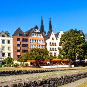 Köln Häuserreihe