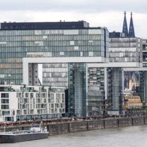 Köln Rhein Gebäude