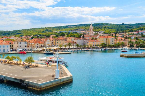 Kroatien Brac Hafen Supetar
