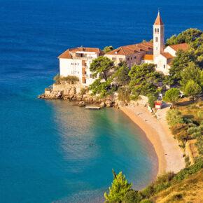 Kroatien-Kracher: 7 Tage auf der Insel Brac mit Hotel & Flug nur 80€