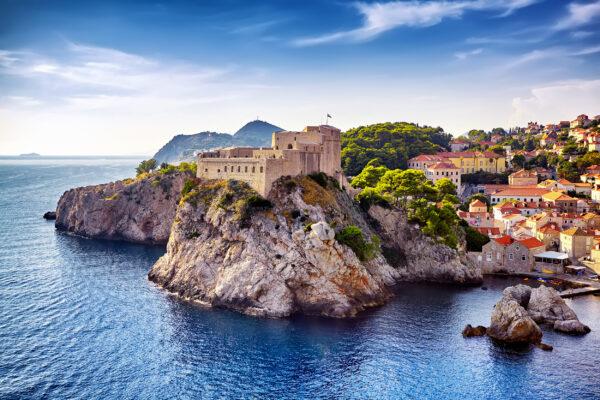 Kroatien Dubrovnik Küste