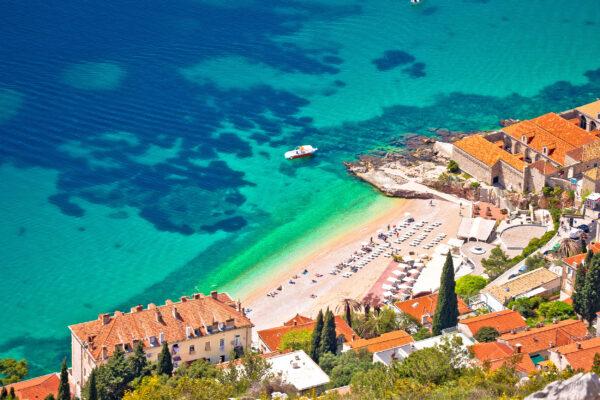 Kroatien Dubrovnik oben