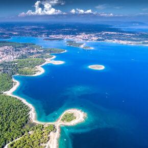 Mit dem Segelboot die Küste Kroatiens entdecken: 8 Tage mit Halbpension & Extras ab 349€