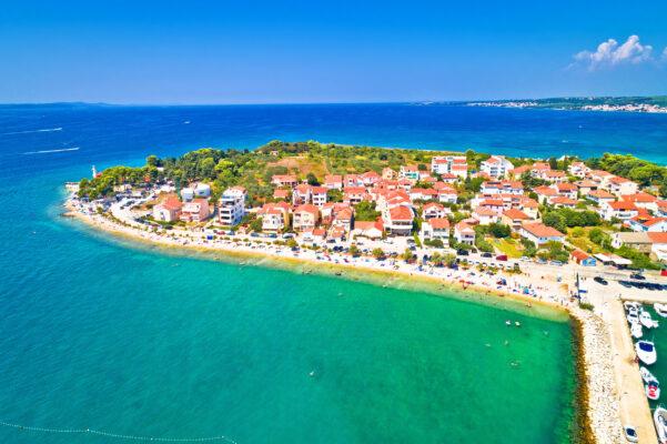 Kroatien Zadar Ausblick