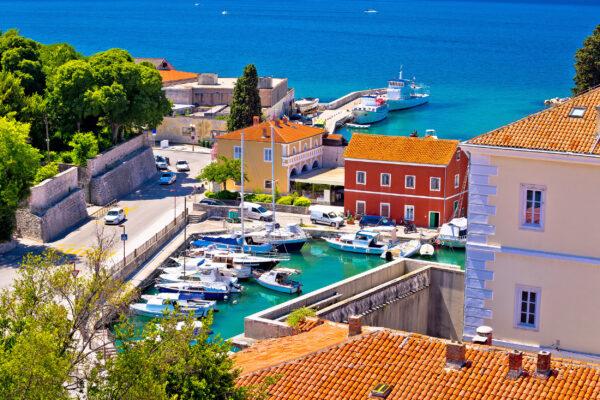 Kroatien Zadar Hafen