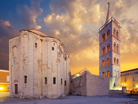 Kroatien Zadar St. Donatus Kirche
