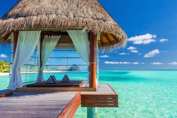 Malediven Lagune