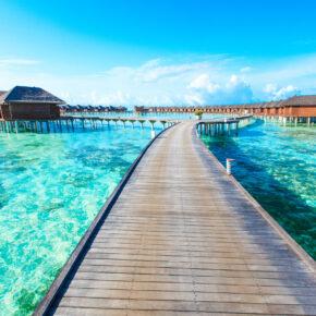 Malediven: 12 Tage träumen mit 3* Strandhotel, Frühstück & Flug nur 660€