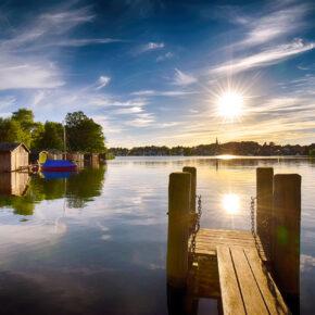 Käpt'n zur See: 4 Tage Meck-Pomm übers WE mit eigenem Hausboot nur 94€ p.P.
