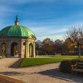 München Englischer Garten Pavillon