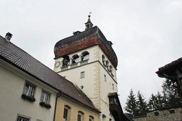 Oesterreich Bregenz Martinsturm