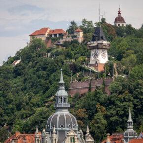 Österreich Graz Schloßberg