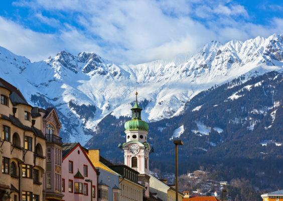 Österreich Innsbruck Berge
