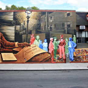 Philadelphia South Street Wall
