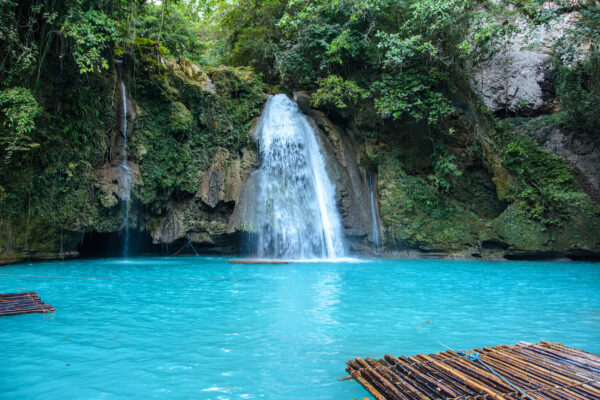 Philippines Cebu Island Kawasan Falls