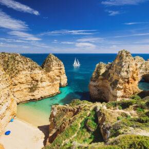 Urlaub an der Algarve: 5 Tage Praia da Luz im TOP 3* Hotel mit Flug nur 120€
