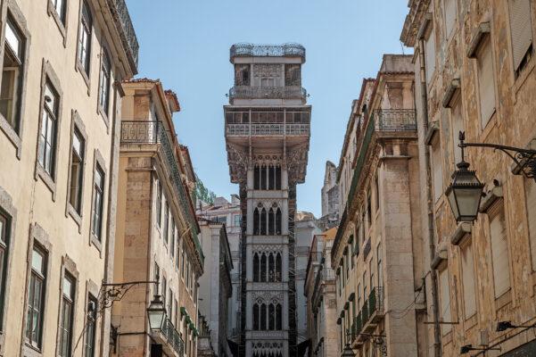 Portugal Lissabon Aufzug