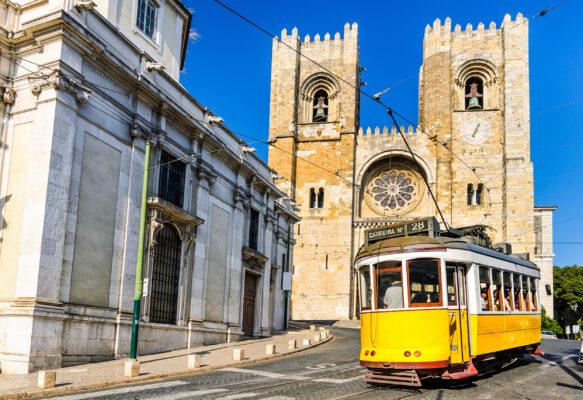 Portugal Lissabon Kathedrale
