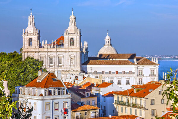 Portugal Lissabon Kloster San Vicente