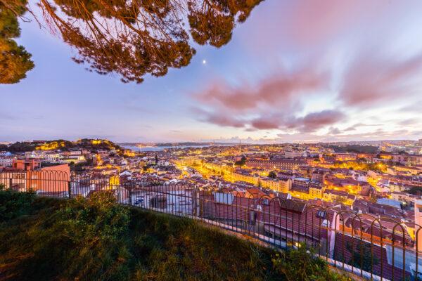 Portugal Lissabon Miradouro da Senhora do Monte