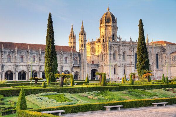 Portugal Lissabon Mosteiro dos Jeronimos
