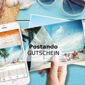 Exklusiver Postando Gutschein: Verschickt Eure persönliche Postkarte gratis!