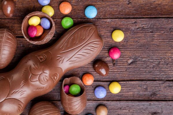 Schokolade Osterhase Smarties